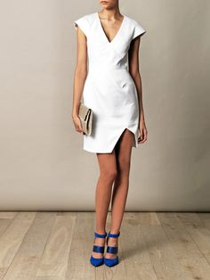 Richard Nicoll dress and Sigerson Morrison shoes
