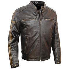 Helstons Ace jacket brown Motorcycle Outfit, Motorcycle Jacket, Motorbike Jackets, Biker Jackets, Leather Men, Leather Jacket, Biker Wear, Bike Kit, Ace Hood