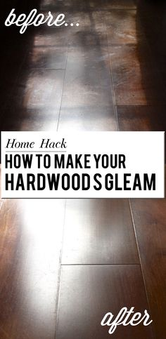 How to clean and declutter for the holidays. Before and after hardwood floors cleaned with Bona!