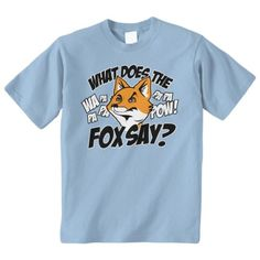 Threadrock 'What Does The Fox Say' Yo... $14.95