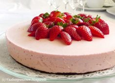 Strawberry Cheesecake (the recipe is in Finnish)