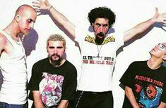 Shavo, John, Serj y Daron!!!!