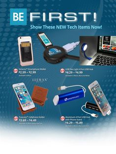 Our New Tech Items Rock