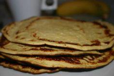 recette crêpe à la farine de noix de coco pour une petit déjeuner ou un gouter sain, comment faire la recette à base de farine de coco, les étapes pour réussir