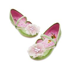 Disney Fairies Tinker Bell Shoes for Girls | Costume Accessories |... ($17) ❤ liked on Polyvore featuring baby shoes and kids