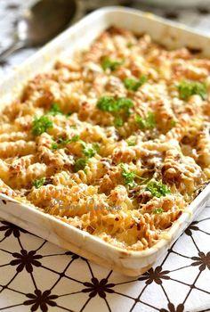 Casserole Recipes, Crockpot Recipes, Cooking Recipes, Healthy Dinner Recipes, Breakfast Recipes, Diner Recipes, Pasta, Food Items, Food Inspiration