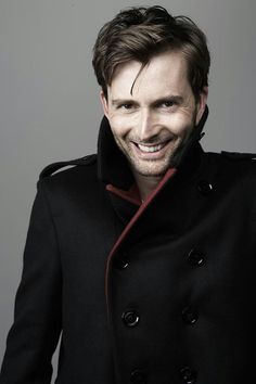 David Tennant (unseen photo) - that lovely smile *^~^*