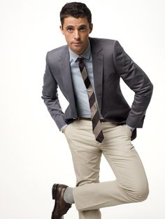 What to Wear Today: April Photos | GQ rep tie modern blazer