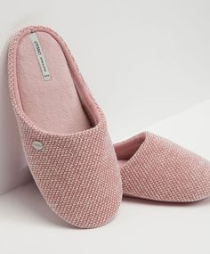 Basic weave slippers - OYSHO
