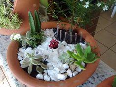 Mini Jardim - Pracinha do interior