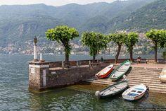 Озеро Комо. Торно и Мольтразио. Италия