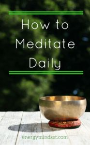 Do you want to learn how to meditate daily. The trick to success is to keep it simple. Here are a few more tips to help you enjoy meditation daily.
