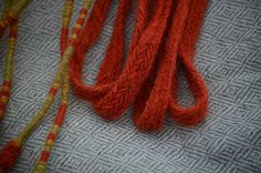 Pas ze Skjoldehamn - blisko doskonałości // Skjoldehamn belt - almost ideal Native Style, Viking Age, Vikings, Medieval, Crochet Necklace, Textiles, Belt, Embroidery, The Vikings
