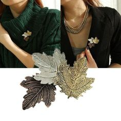 Engraved Brooches for women