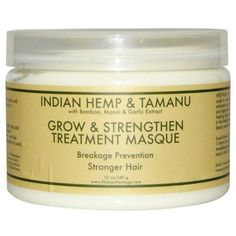 Nubian Heritage Hair Masque Indian Hemp Tamanu 12 Oz