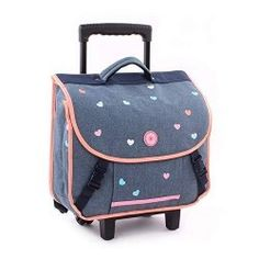 Cartable Fille à Roulettes Milky Kiss Candy Shop chez MaxiRentree.fr Little Marcel, Backpacks, Bags, Dragon Backpack, Small Backpack, Book Bags, Petite Fille, Handbags, Totes
