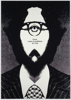 Zoom contre la pollution de l'oeil, Zoom Against Eye Pollution , Cieslewicz Roman