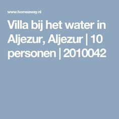 Villa bij het water in Aljezur, Aljezur | 10 personen | 2010042
