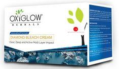 OxyGlow Diamond Bleach Cream Lightens Facial Hair Age control Treatment 1 KG  #OxyGlow