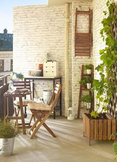 Claves para poner al día tu terraza, patio o balcón pequeño - Blog T&D