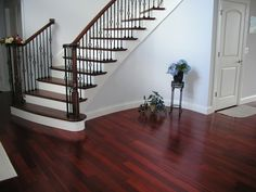 Add style, charm & beauty with this royal mahogany hardwood. Order 5 free samples - we'll even pay for shipping!