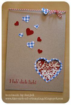Karte, Hochzeit, Liebe, Valentinstag | card, wedding, love, valentines day