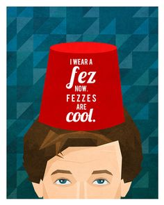#fezlove https://www.etsy.com/listing/171186614/doctor-who-print-the-eleventh-doctormatt