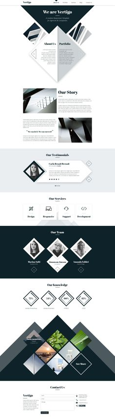 Vertigo - Creative Theme for Agencies & Companies • Download ➝ https://themeforest.net/item/vertigo-creative-theme-for-agencies-companies/12155416?ref=pxcr