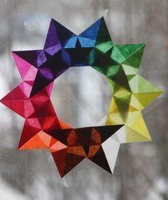 Eine meiner liebsten Beschäftigungen an diesen Tagen zwischen den Jahren ist das Falten von Transparentsternen. Ich mag diesen Fensterschmuck unwahrscheinlich gerne - die Sterne sehen so zart aus, leuchten so kraftvoll und ich kann mich an all den verschiedenen geometrischen Formen und Effekten überhaupt nicht satt sehen. Für mich sind sie kein Weihnachtsschmuck, sondern schöne Begleiter durch den ganzen Winter, die hier gerne bis in den Februar hinein hängen dürfen. Ich habe ein sehr…