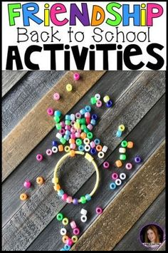 Back to School Activities and Centers for Preschool, Pre-K, Kindergarten ~Friendship, Rules & Routines - Kindergarten Rocks Resources