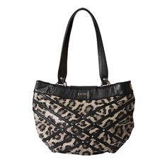72a51c0fa6 Jenna - Demi The Jenna for Demi Miche Bags has sex appeal that really  purrs! Ebony and creamy-taupe leopard-print faux leather is accented with.