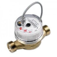 A water meter with a reed switch and debounce circuit is used to keep the water companies honest