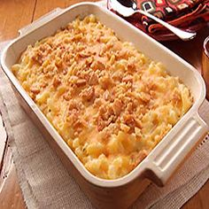 VELVEETA Down-Home Macaroni & Cheese.Omg this is the BEST mac and cheese recipe I have EVER come across. Making for Thanksgiving. Cant wait to see what my family says about it. Kraft Foods, Kraft Recipes, Mac N Cheese Velveeta, Macaroni Cheese Recipes, Baked Macaroni, Pasta Recipes, Yummy Recipes, Velveeta Recipes, Quick Recipes