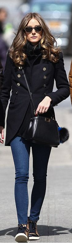 Olivia Palermo bag – Fendi, Shoes – Lanvin,