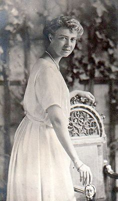 Princesse Olga de Hanovre (1884-1958) fille du prince Ernst-Auguste II e Hanovre et de la princesse Thyra de Danemark
