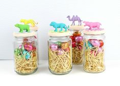 Diy Animal Jars Candy Treats!!!