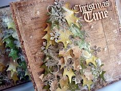 Gorgeous Christmas Card....Love the layering!