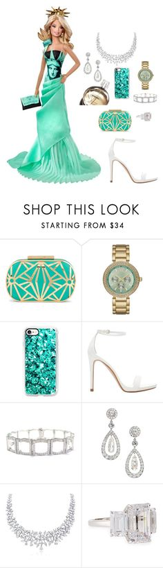 """Statue of Liberty"" by mehrak ❤ liked on Polyvore featuring ALDO, Chanel, Geneva, Casetify, Zara, Tiffany & Co., Cartier and Fantasia by DeSerio"