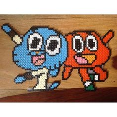 The Amazing World of Gumball perler beads by emmajanesgifts