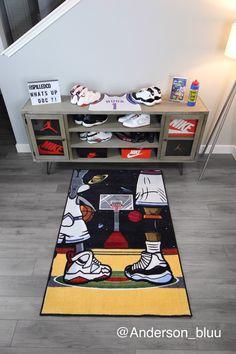 Finally Found What I Was Missing In My Sneaker Room. Bedroom Setup, Room Ideas Bedroom, Bedroom Decor, Ikea Boys Bedroom, Hypebeast Room, Shoe Room, New Room, Room Inspiration, Kids Room