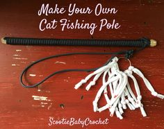Does your cat need a new toy? Or do you need an immediate toy for a new kitten? This pattern can help you create your own...
