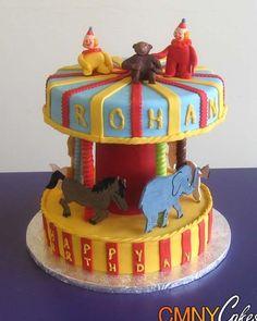 merry go round cake  | Merry-Go-Round Cake - CMNY Cakes