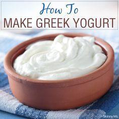 http://www.cadecga.com/category/Yogurt-Maker/ How to Make Greek Yogurt Without A Yogurt Maker