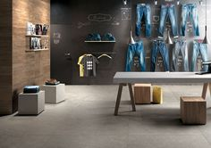 Mirage Mashup Block | Concrete Look Tile | Available at Ceramo