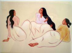 R C Gorman Taos Arabesque Ceramic Art Tile Southwest Gift Idea Collectible 6x8 | eBay