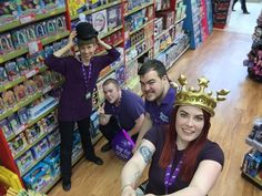 Here is our Milton Keynes team getting into the Gosh fundraising spirit!