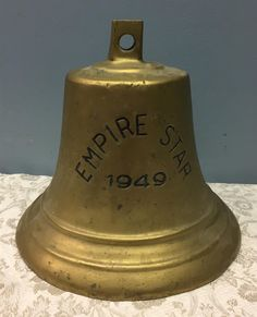 www.M37Auction.com: Empire Star 1949 - Reproduction Bell