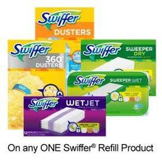 P&G coupons and offers Printable Coupons, Printables, Swiffer Refill, Eczema Relief, Online Coupons, Donate To Charity, Travel Size Products, Packing, Stuff To Buy