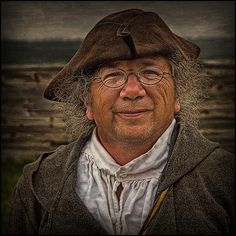 A Man From that Time of Louisbourg