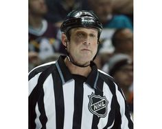 Here's linesman Don Henderson sporting quite the shiner. Getty Images